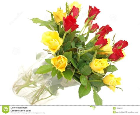 Tiff Bloom Bouquet By Velcris One bouquet of and yellow roses stock image image 13086161