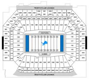 Ford Field Seat Map Ford Field Detroit Images