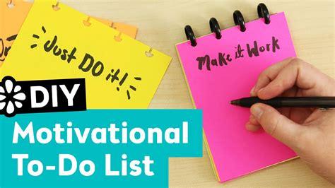 diy printable to do list diy motivational to do list pad sea lemon youtube