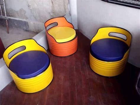 Sofa Dari Drum 79 amazing ideas to recycle the empty drums goods home
