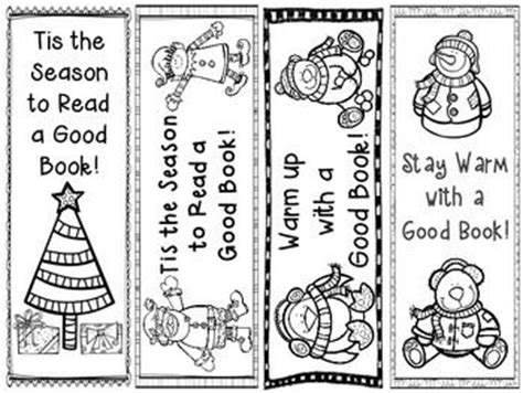 printable holiday bookmarks to color freebie holiday bookmarks i m going to have my first