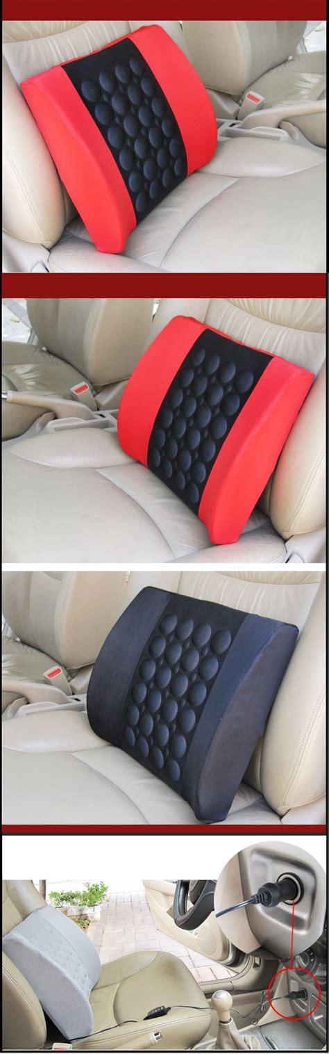 Car Electric Cushion car cushion seat memory foam electric back support