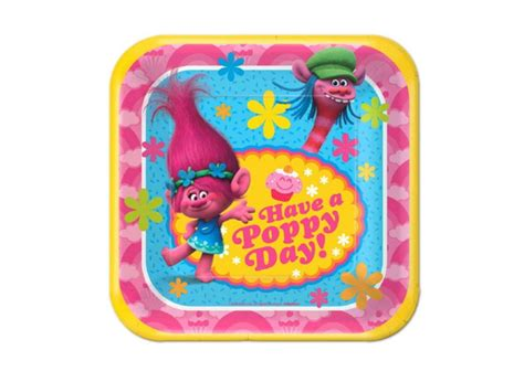 How To Decorate A Cake At Home Easy Trolls Party Supplies Sweet Pea Parties