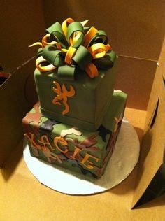 Images About Camo Hunting Cakes On Pinterest Camo