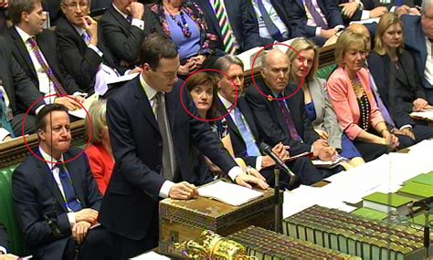 conservative front bench budget 2015 george osborne s statement in funny pictures