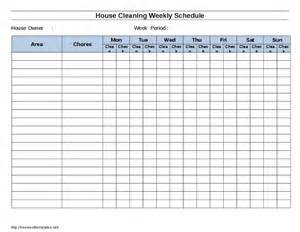 cleaning schedule template for care homes house cleaning schedule template hashdoc