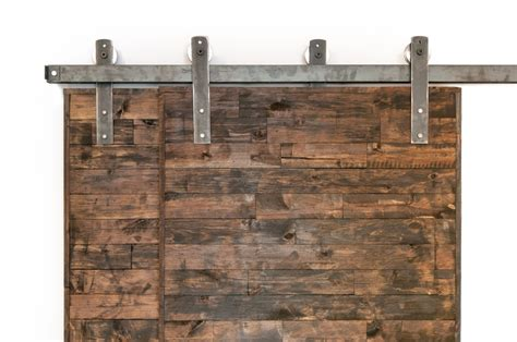 Barn Door Bypass Hardware Bypass Industrial Classic Sliding Barn Door Closet Hardware