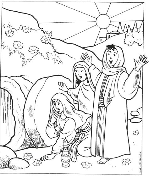 empty tomb coloring pages preschool empty tomb coloring pages preschool 434 best bible