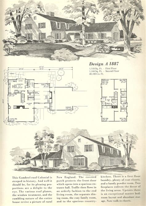 Gambrel Dutch Colonial House Plans Gambrel Roof House Gambrel House Plans