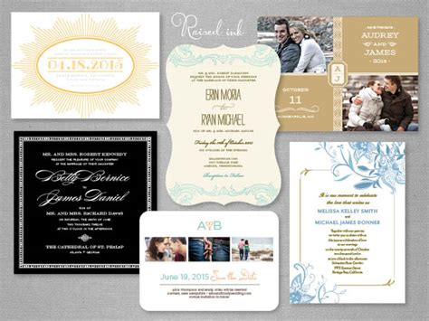 Wedding Invitations Raised Print by Printed Wedding Invitations In Raised Ink