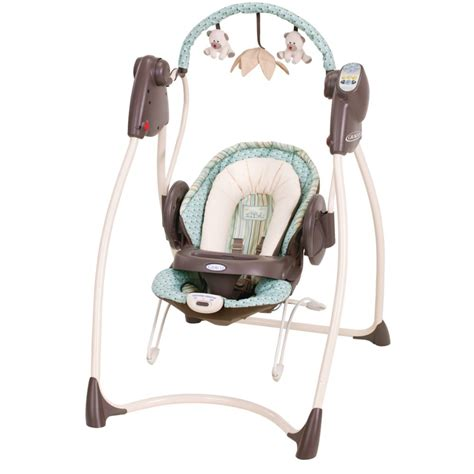 swing and bouncy seat combo graco broad street swing n bounce baby baby gear