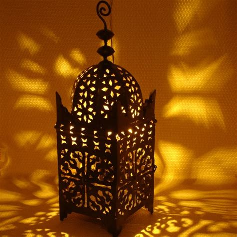 moroccan lantern black stylish lighting