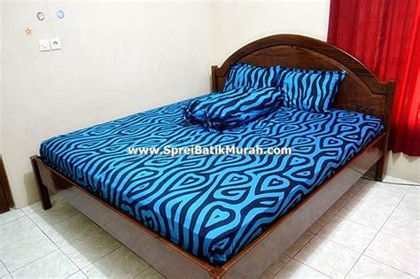 Sprei Vallery 180 Blue Best Seller sprei batik sprei batik lovely blue