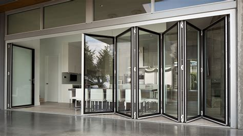 large folding glass doors image gallery nanawall