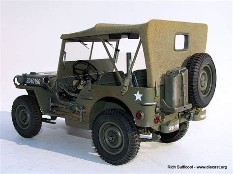 1940 Willys Jeep 1940 Willys Jeep Diecast Model Legacy Motors