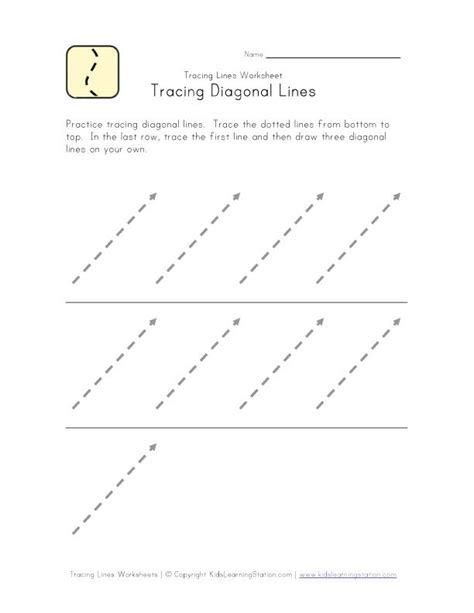 pattern writing slanting lines tracing slanted lines other direction exercices de