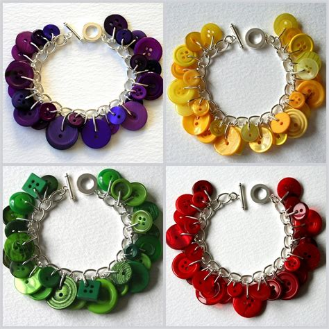 11 Easy Diy Buttons Jewelry Projects Jewelry From