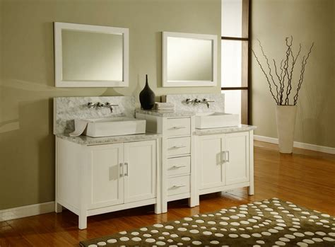 white double bathroom vanity j j international 84 quot horizon white double vanity