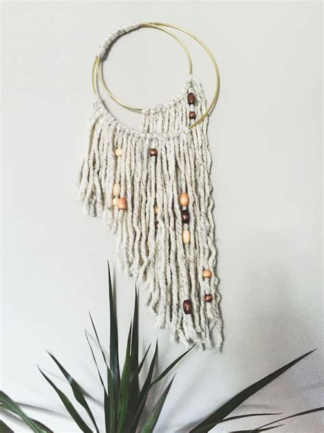 Diy Macrame Wall Hanging - a boho easy diy macrame wall hanging the book