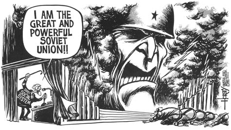 Iron Curtain Political Cartoons Soviet Union 1981 David Horsey Cartoons And Commentary