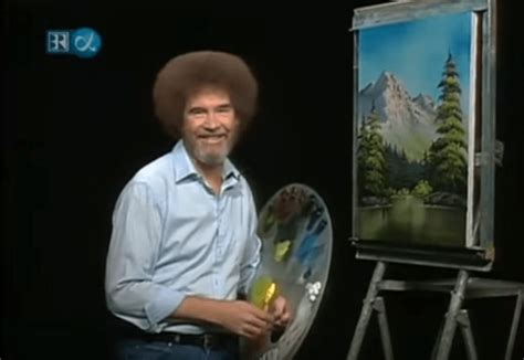 tv bob ross painting bob ross and sharpies saturday morning local