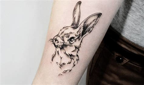 tattoo rabbit designs 40 adorable rabbit design ideas tattoobloq