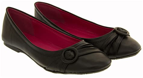 school shoes for size 7 ballet flats womens faux leather ballerina school