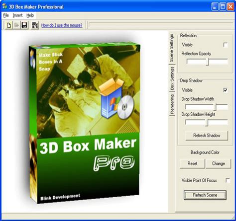 box pattern in c programming 3d box shots creator software 2 0 screenshots