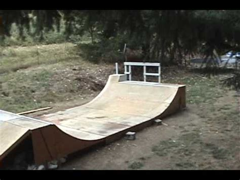 backyard skate park backyard skate park update youtube