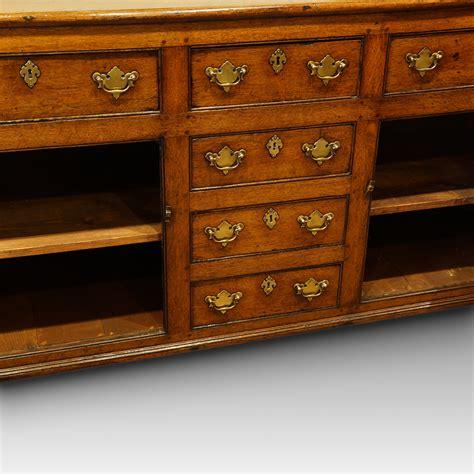 Oak Dressers Uk by Antique 19thc Oak Dresser Base Hingstons Antiques Dealers