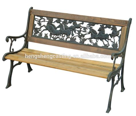 wrought iron bench wood slats wood slats cast iron outdoor bench for park buy cast