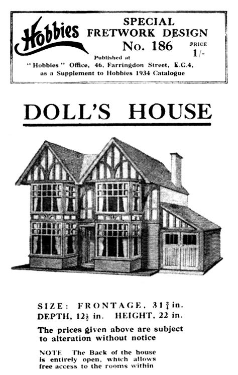 tudor dolls house tudor dolls house hobbies no186 special the brighton toy and model index