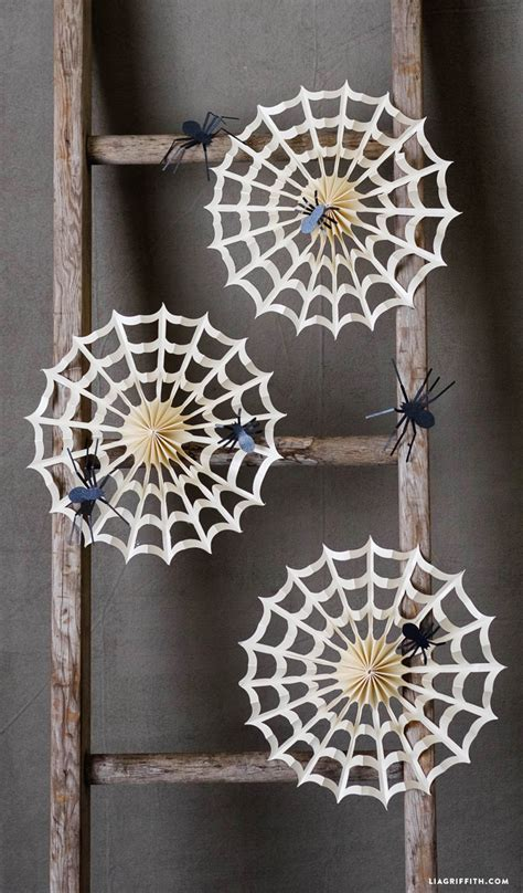 decorating with spider webs for accordion spider web decorations lia griffith