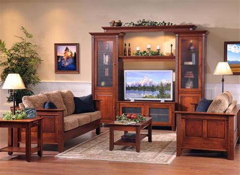 sofas living room furniture tv amish living room furniture by dutchcrafters