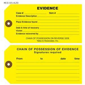 custom printed evidence hang tags st louis tag