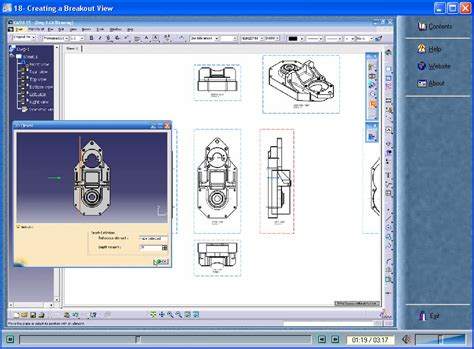 tutorial video catia v5 catia v5 video tutorial drafting course eng avaxhome