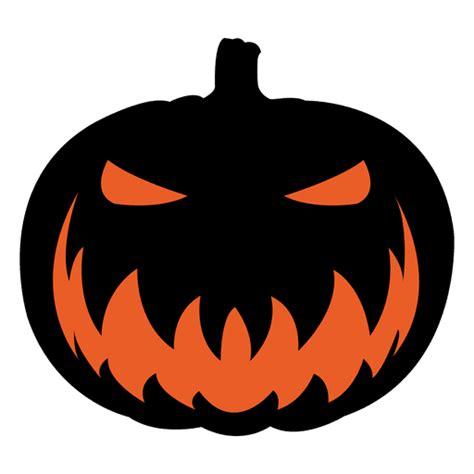 scary pumpkin face  transparent png svg vector file