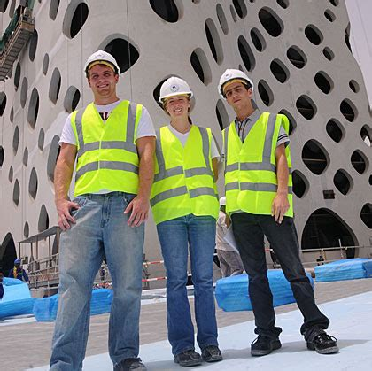 dubai internship ushers  annual program  lau civil engineering students lau news