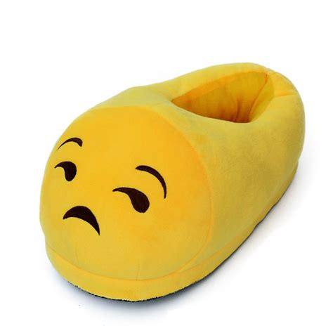 emoji slippers emoji unisex slippers warm winter home shoes indoor