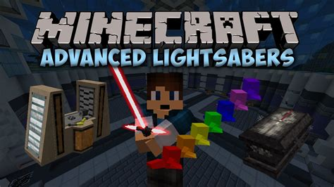 Lightsabers In Minecraft Advanced Lightsabers Mod Minecraft Mod Showcase 1