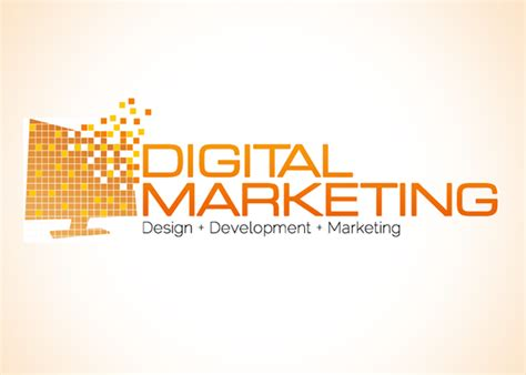 logo design digital digital marketing logo design on behance