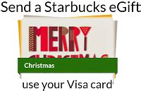 Visa Gift Cards No Fees - starbucks free 5 egift card visa bonus gift cards no fee