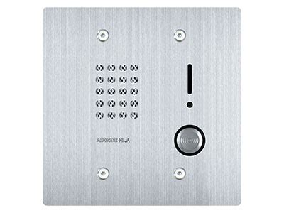 Aiphone Ni Ba Single aiphone nim system l memory intercom system