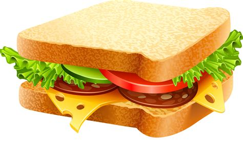 is a a sandwich free to use domain sanwich clip