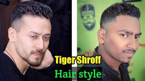 tiger shroff hair style baaghi 2 haircut tiger shroff hairstyle tiger shroff