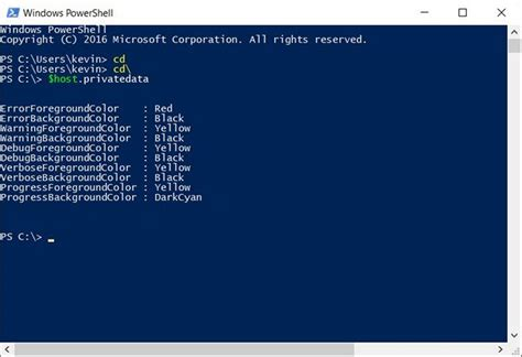 powershell colors how to change powershell color scheme on windows 10 beebom