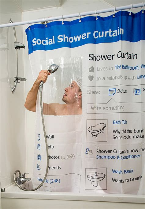 facebook shower curtain thehooknew