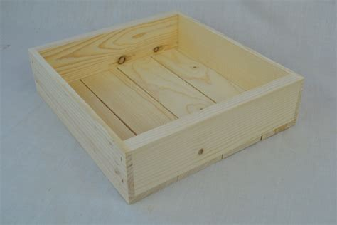 wooden wholesale wholesale wooden box 11 x 10 x 3 qty 15 poole sons