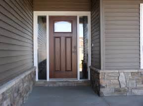 Exterior Entrance Door Tips On Choosing The Right Exterior Doors Ward Log Homes