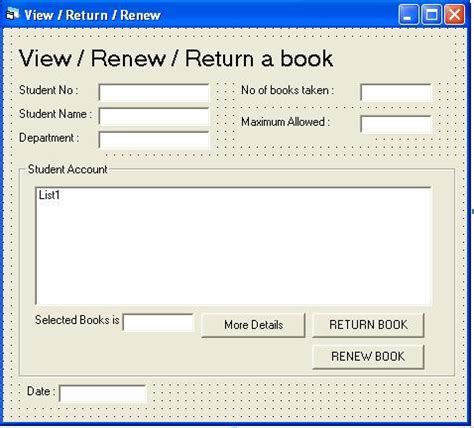 form design for library management system in vb library management system software vb reofesk